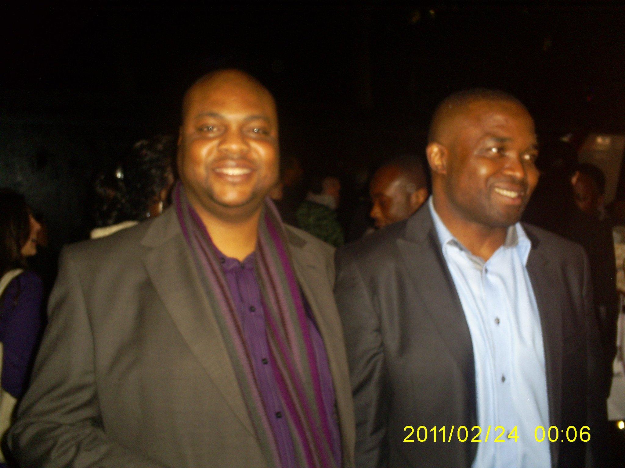 With The Mirror Boy director Obi Emelonye